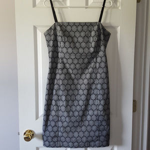 The Limited Stretch black and white summer dress